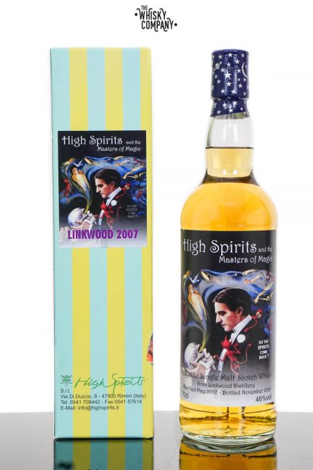 Linkwood 2008 Aged 11 Years Single Malt Scotch Whisky - High Spirits (700ml)
