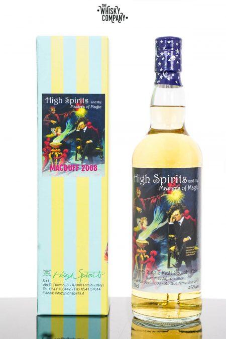MacDuff 2008 Aged 11 Years Single Malt Scotch Whisky - High Spirits (700ml)