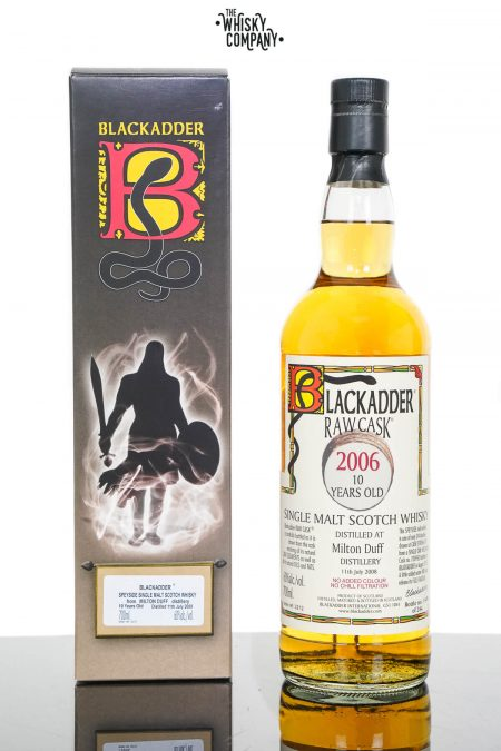 Milton Duff 2006 Aged 10 Years Single Malt Scotch Whisky - Blackadder Raw Cask (700ml)
