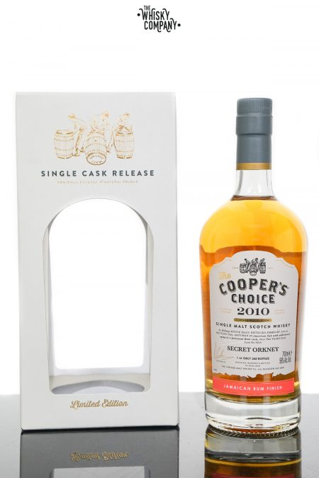 Secret Orkney 2010 Aged 10 Years Single Malt Scotch Whisky - The Cooper's Choice (700ml)