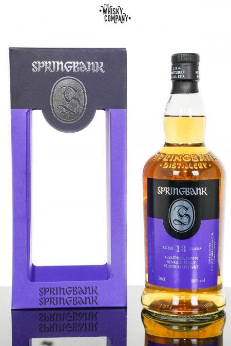 Springbank 18 Years Old Campbeltown Single Malt Scotch Whisky (700ml)