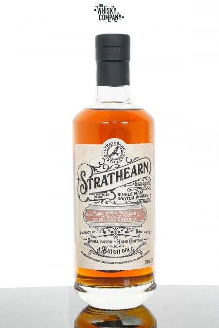 Strathearn Highland Single Malt Scotch Whisky - Batch 001 (700ml)