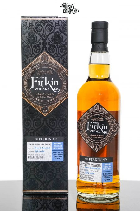 Aultmore 2010 Aged 10 Years Single Malt Scotch Whisky - Firkin Whisky Co. (700ml)
