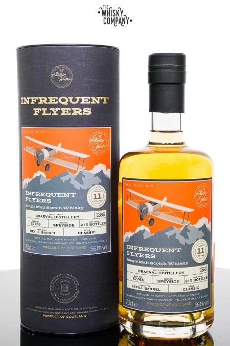 Braeval 2009 Aged 11 Years Single Malt Scotch Whisky - Infrequent Flyers (700ml)