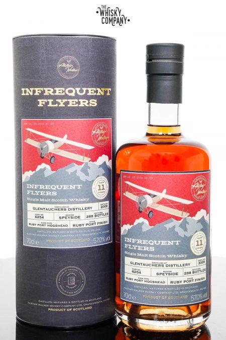 Glentauchers 2009 Aged 11 Years Speyside Single Malt Scotch Whisky - Infrequent Flyers (Alistair Walker) (700ml)