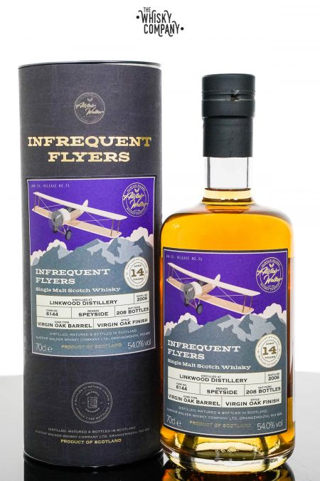 Linkwood 2006 Aged 14 Years Speyside Single Malt Scotch Whisky - Infrequent Flyers (Alistair Walker) (700ml)