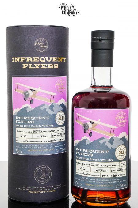 Undisclosed Distillery Orkney 1999 Aged 21 Years Single Malt Scotch Whisky - Infrequent Flyers #23 (700ml)