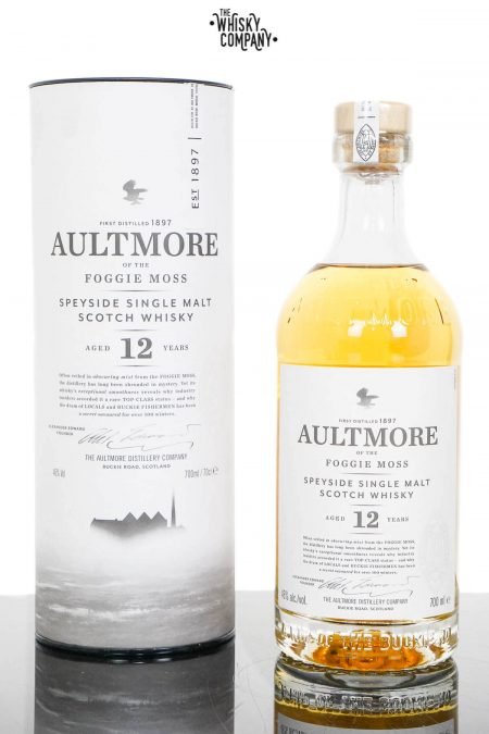 Aultmore 12 Years Old Single Malt Scotch Whisky (700ml)
