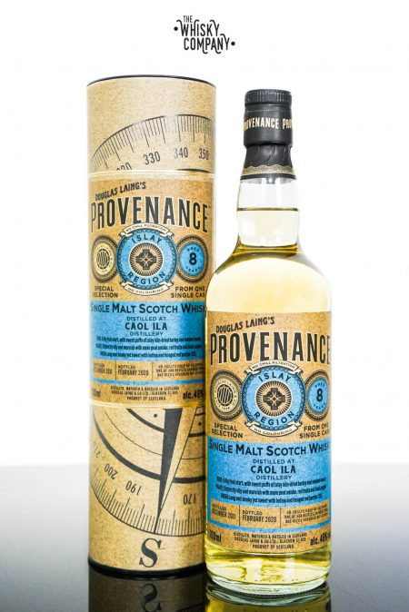 Caol Ila 2011 Aged 8 Years Provenance Single Malt Scotch Whisky - Douglas Laing (700ml)