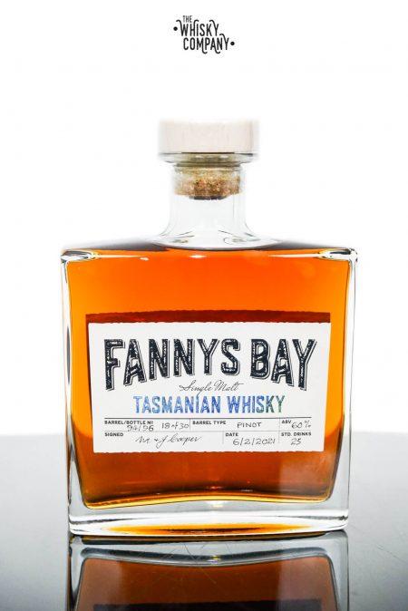Fannys Bay Pinot Wine Cask Matured Cask Strength Tasmanian Single Malt Whisky - Cask #94/96 (500ml)