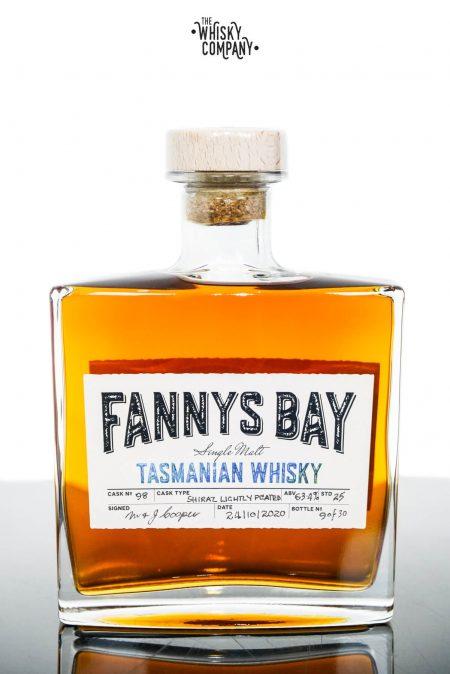 Fannys Bay Shiraz Wine Cask Matured Lightly Peated Tasmanian Single Malt Whisky - Barrel #98 (500ml)