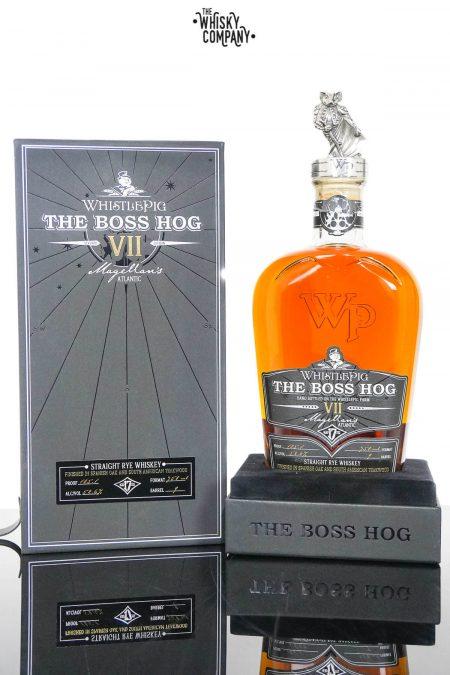 Whistlepig The Boss Hog VII Magellan's Atlantic Straight Rye Whiskey (750ml)