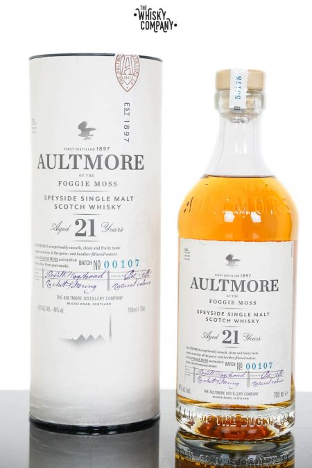 Aultmore 21 Years Old Single Malt Scotch Whisky (700ml)