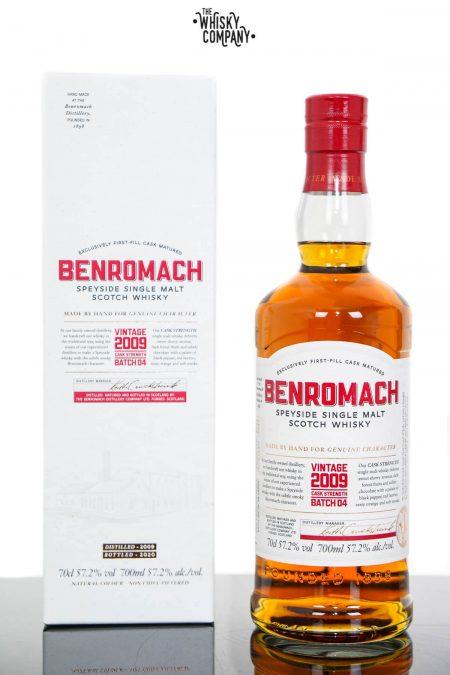 Benromach 2009 Cask Strength Batch 4 Speyside Single Malt Scotch Whisky (700ml)