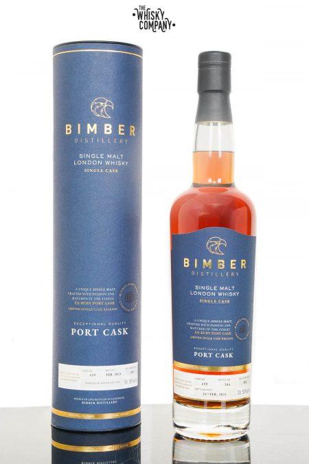 Bimber Port Cask Cask Strength Single Malt Whisky - Cask #39 (700ml)