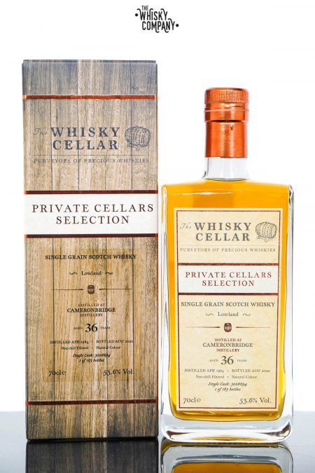 Cameronbridge 1984 Aged 36 Years Private Cellars Selection Single Grain Scotch Whisky - The Whisky Cellar (700ml)