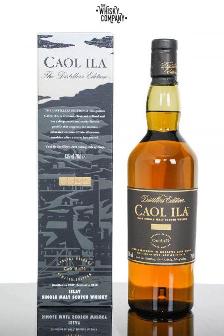 Caol Ila 2007 Distillers Edition Islay Single Malt Scotch Whisky (700ml)