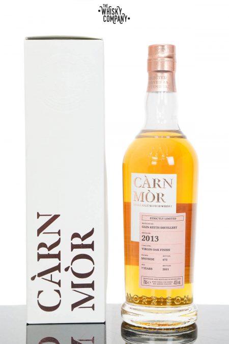 Glen Keith 2013 Aged 7 Years Speyside Single Malt Scotch Whisky - Càrn Mòr Strictly Limited (700ml)