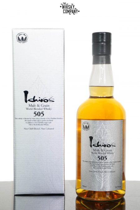 Ichiro's Malt & Grain 505 World Blended Whisky (700ml)