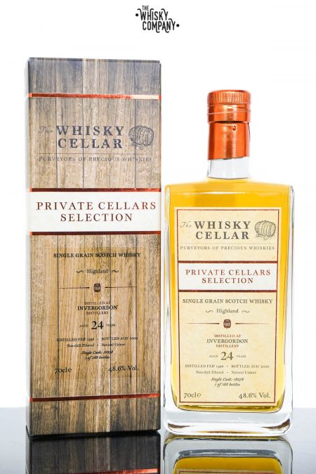 Invergordon 1996 Aged 24 Years Private Cellars Selection Single Grain Scotch Whisky - The Whisky Cellar (700ml)
