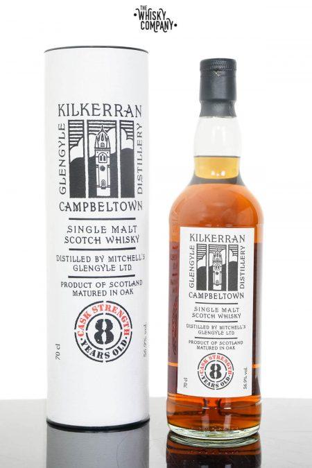 Kilkerran Aged 8 Years Cask Strength Campbeltown Single Malt Scotch Whisky - 2021 Release (700ml)