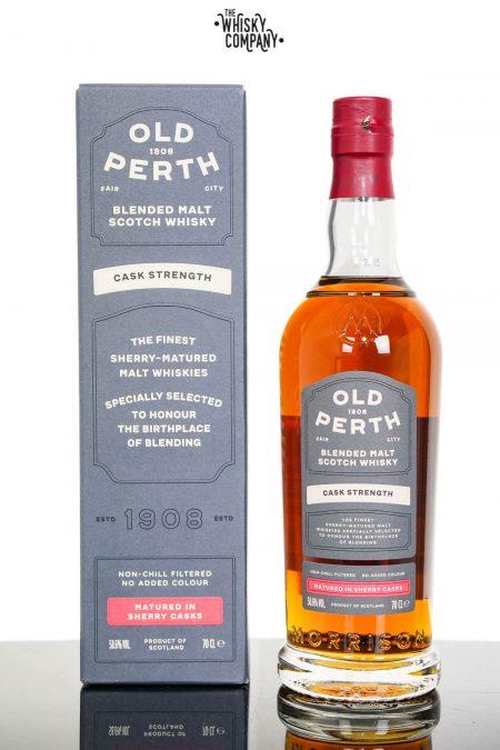 Old Perth Cask Strength Blended Malt Scotch Whisky - Morrison & Mackay (700ml)