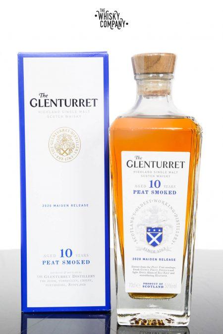 Glenturret Aged 10 Years Peat Smoked Highland Single Malt Scotch Whisky (700ml)
