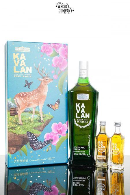 Kavalan Native Species Concertmaster Port Cask Finish Gift Set Single Malt Whisky (700ml)