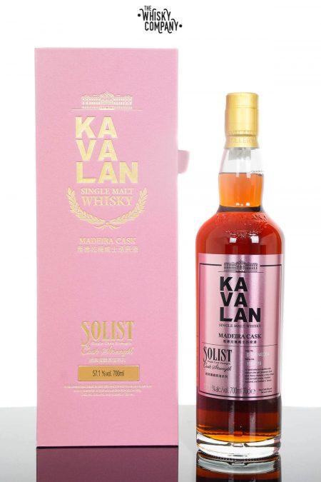 Kavalan Solist Madeira Cask Taiwanese Single Malt Whisky (700ml)