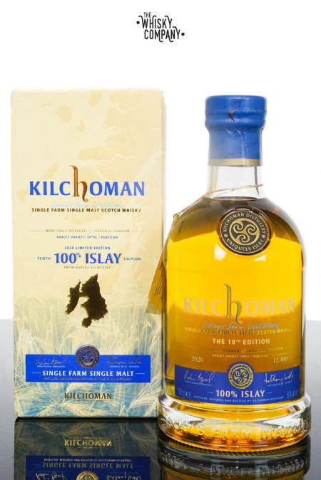 Kilchoman 100% Islay 10th Edition Single Malt Scotch Whisky (700ml)