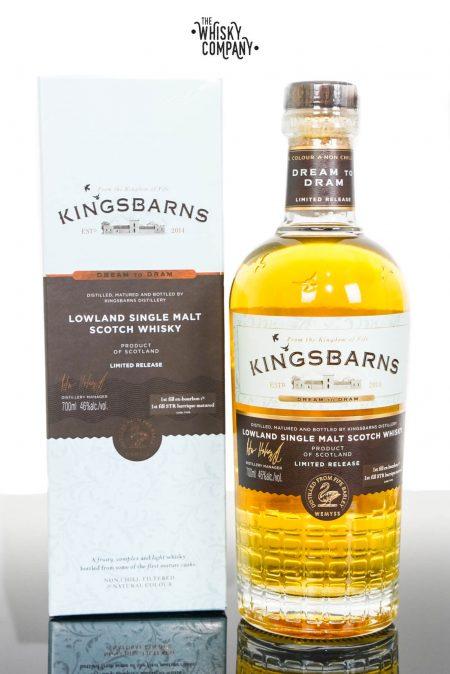 Kingsbarns Dream To Dram Lowland Single Malt Scotch Whisky (700ml)