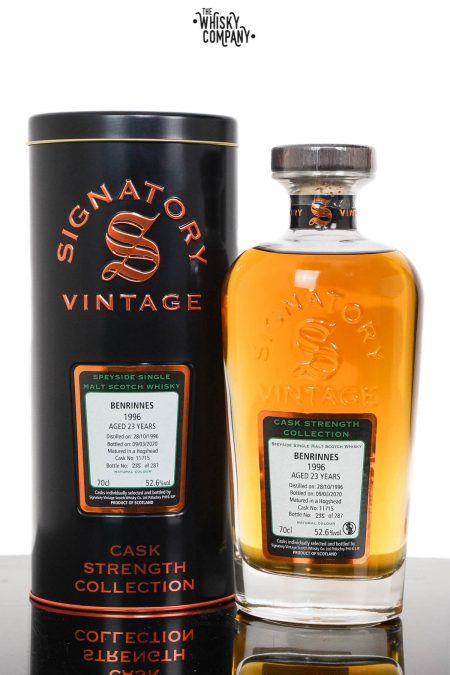 Benrinnes 1996 Aged 23 Years Single Malt Scotch Whisky - Signatory Vintage (700ml)