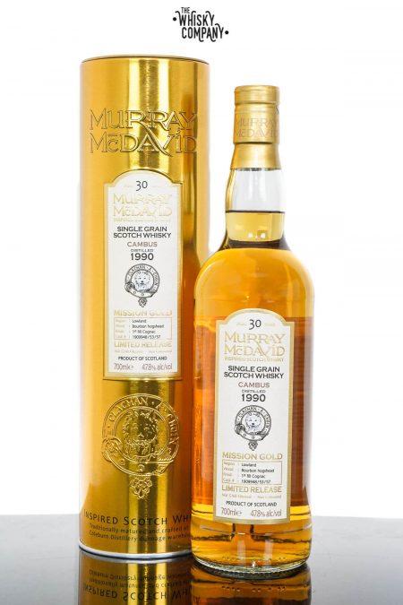 Cambus 1990 Aged 30 Years Single Grain Scotch Whisky - Murray McDavid (700ml)