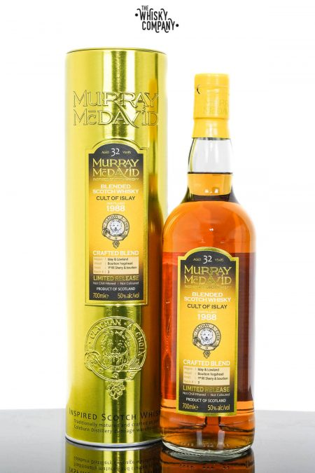 Cult of Islay 1988 Aged 32 Years Blended Scotch Whisky - Murray McDavid (700ml)