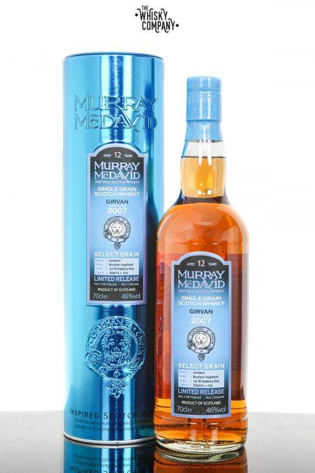 Girvan 2007 Aged 12 Years Madeira Single Grain Scotch Whisky - Murray McDavid (700ml)