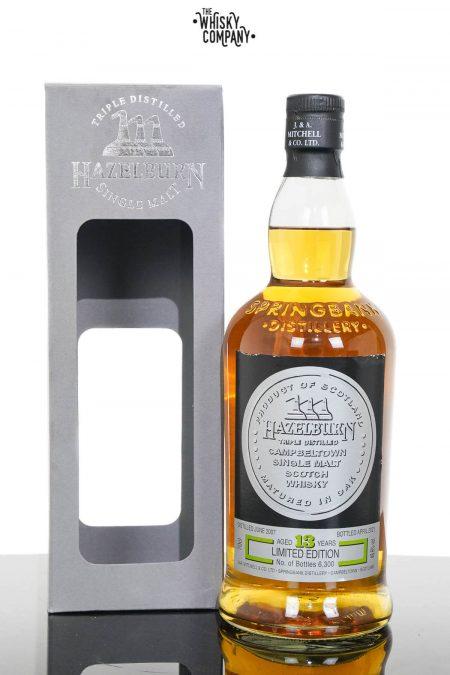 Hazelburn 2007 Aged 13 Years Campbeltown Single Malt Scotch Whisky - Oloroso Sherry Cask Matured 2021 Release (700ml)