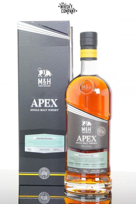 Milk & Honey Peated STR Cask Israeli Single Malt Whisky (700ml)