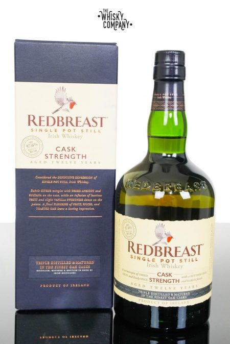 Redbreast Aged 12 Years Cask Strength Edition Irish Single Pot Still Whiskey (700ml)