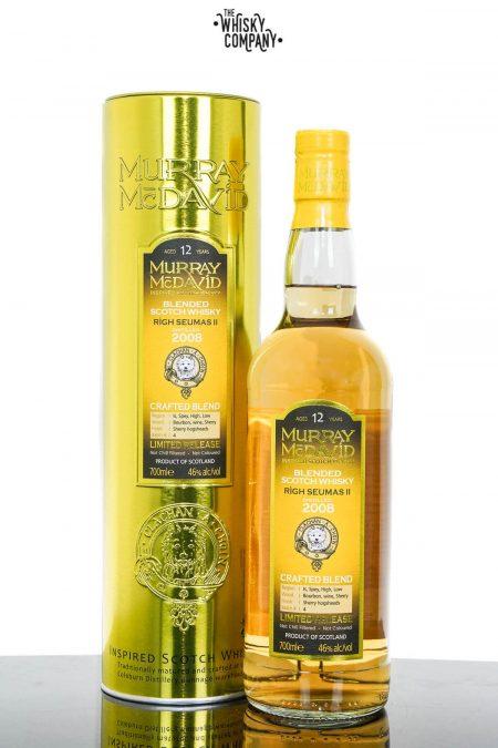 Righ Seumas II 2008 Aged 12 Years Blended Scotch Whisky - Murray McDavid (700ml)