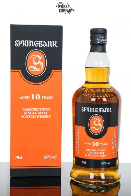 Springbank Aged 10 Years Campbeltown Single Malt Scotch Whisky (700ml)
