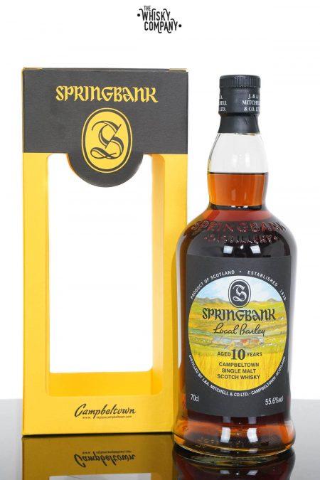 Springbank Aged 10 Years Local Barley Single Malt Scotch Whisky - 2020 Release (700ml)