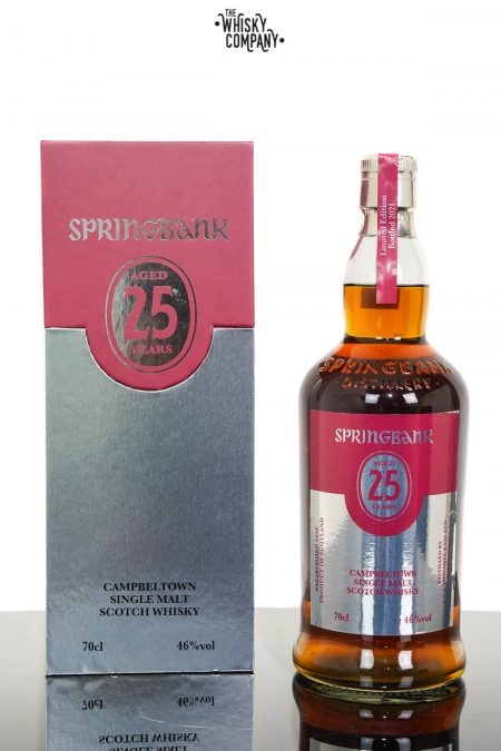Springbank 25 Years Old Campbeltown Single Malt Scotch Whisky - 2021 Release (700ml)