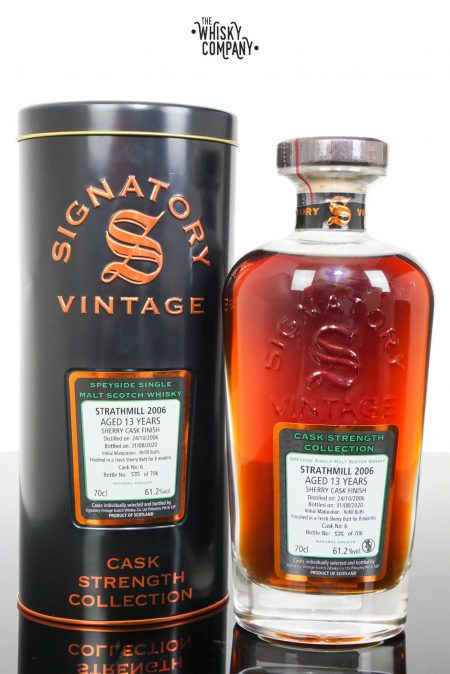 Strathmill 2006 Aged 13 Years Cask Strength Single Malt Whisky - Signatory Vintage (700ml)