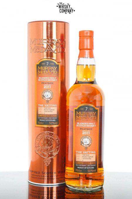 Peatside 2011 Aged 7 Years Vatted Scotch Whisky - Murray McDavid (700ml)