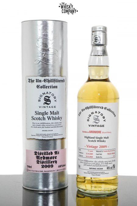 Ardmore 2009 UCF Aged 11 Years Single Malt Scotch Whisky - Signatory Vintage (700ml)