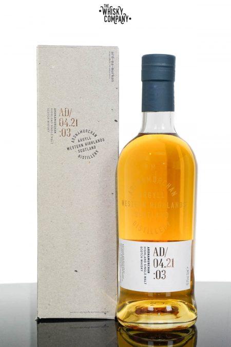 Ardnamurchan AD/04.21:03 Single Malt Scotch Whisky - Third Release (700ml)