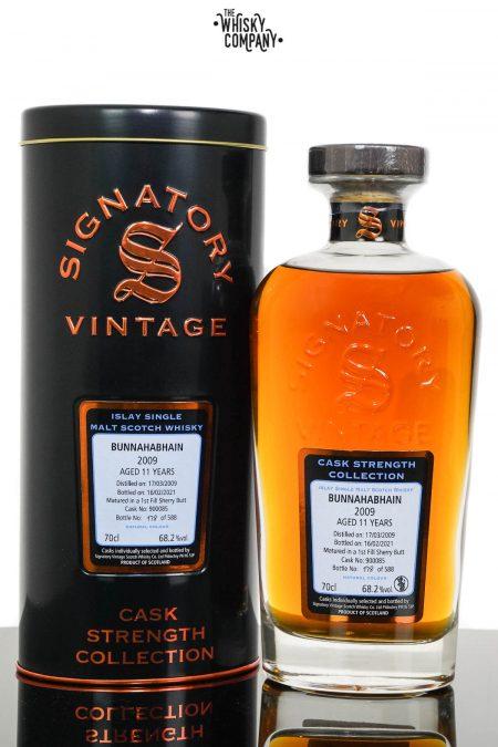 Bunnahabhain 2009 Aged 11 Years Islay Single Malt Scotch Whisky - Signatory Vintage (700ml)