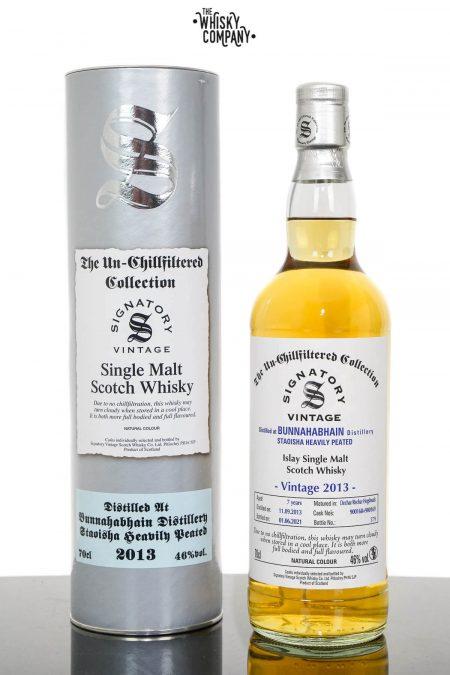 Bunnahabhain Staoisha 2013 UCF Aged 7 Years Single Malt Scotch Whisky - Signatory Vintage (700ml)