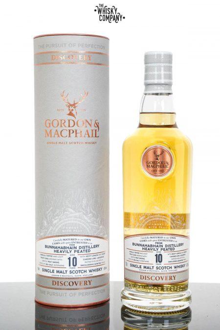 Bunnahabhain Aged 10 Years Heavily Peated Single Malt Scotch Whisky - Gordon & MacPhail Discovery Series (700ml)