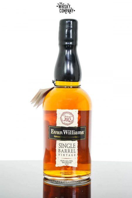 Evan Williams 2012 Single Barrel Vintage Kentucky Straight Bourbon Whiskey (700ml)